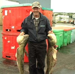 Bill's catch of the day, Newfoundland.