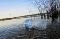 Throwaway plastic