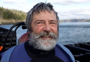 Bay of Fundy Scallop Diver Alan Dickie