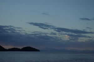 Cordova at sunset