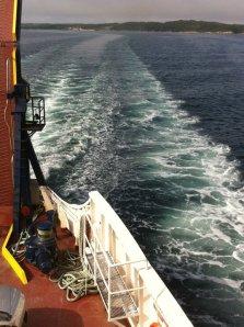 Approaching Fogo Island