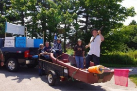 Community Supported Fisheries Float at Long Island Days