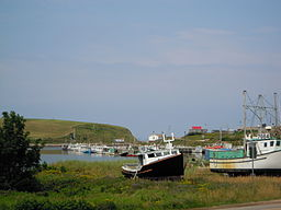 The harbour at Bay St. Lawrence, Cape Breton, Nova Scotia, Canada. Wikimedia Commons User Skeezix1000